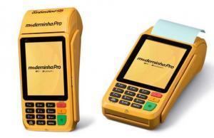 Máquina-cartão -crédito-débito Banco-Brasil