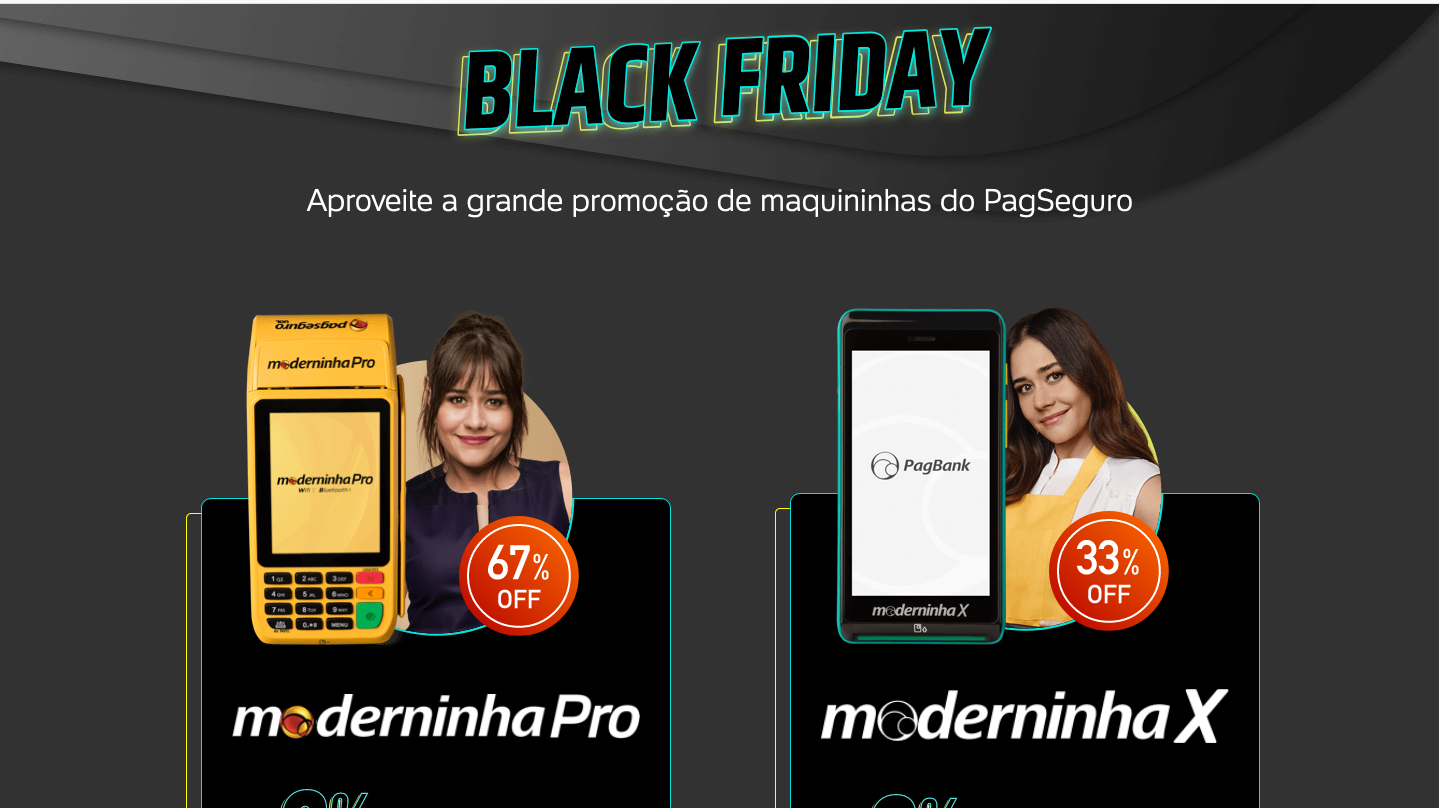 Black Friday maquininha