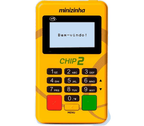 Minizinha Chip 2 como usar
