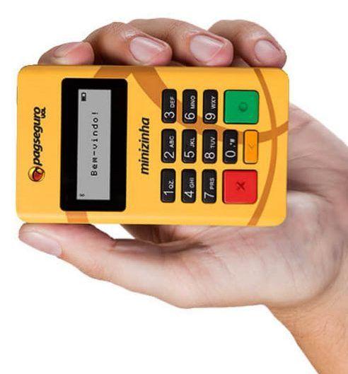 Máquina de cartão para banca de jornal