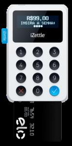 Máquina de cartão para celular Izettle