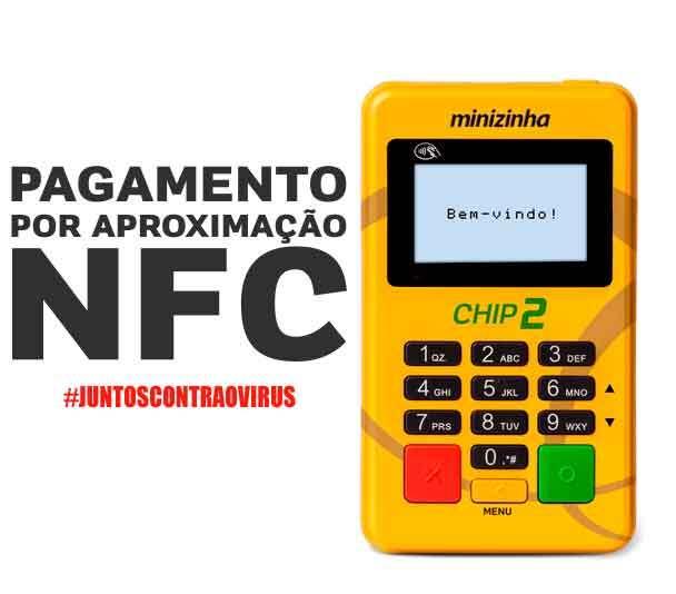 Minizinha Chip 2 pagamento por aproximação