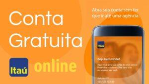 Abrir conta Itaú online