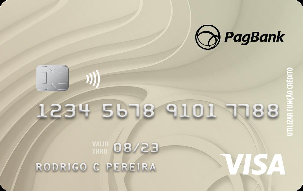 PagBank cartão de crédito para negativado